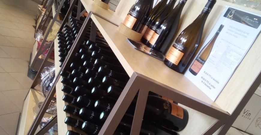 Retrait de vos vins en magasin